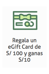 eGift Card Platanitos  modelo  Tops Deportivo