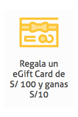 eGift Card Platanitos  modelo  Loncheras