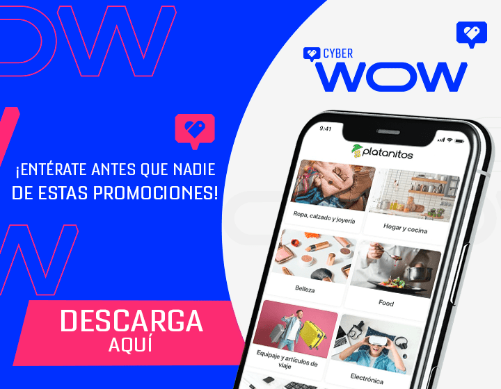 Descarga el app - Cyber wow