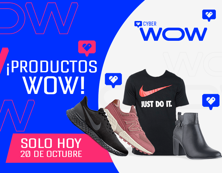 Productos WOW 20 Octubre