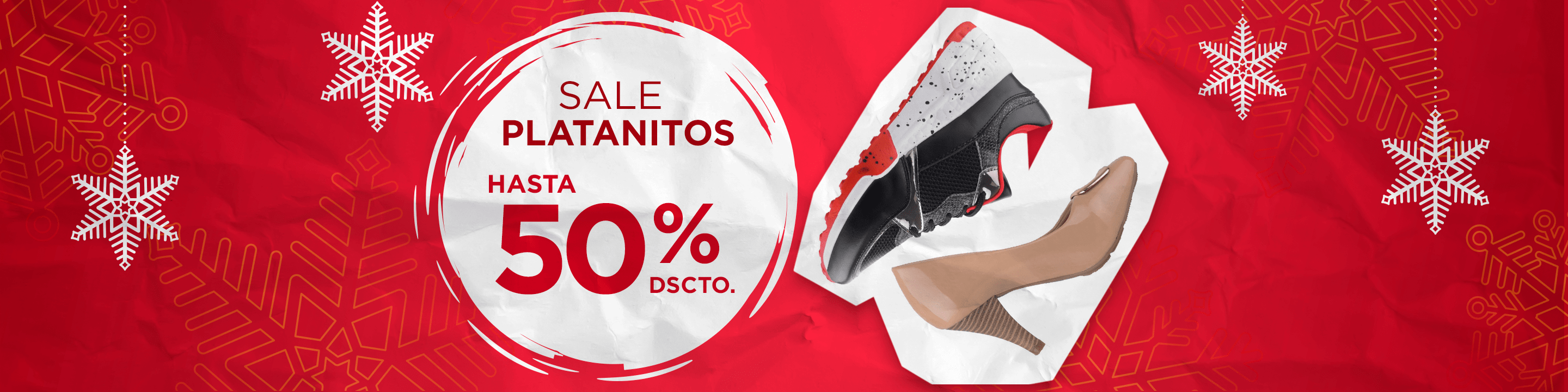 Sale Platanitos Hasta 50% Dscto.