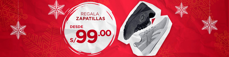 Zapatillas Desde s/99.00
