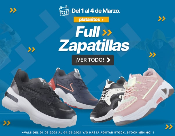 3 Zapatillas Platanitos