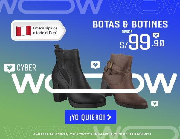 Cyber wow_ 3 Botas y botines