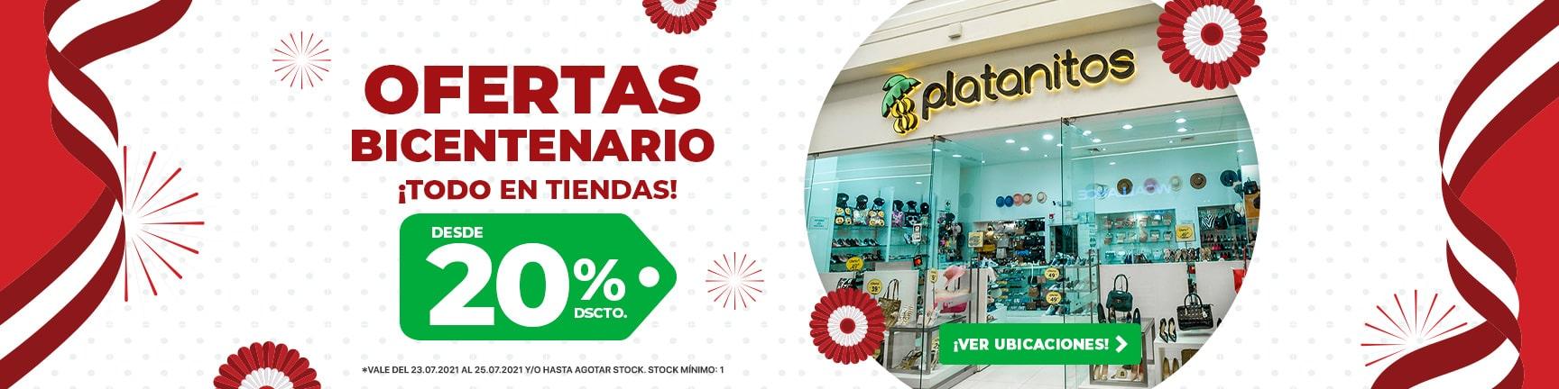 BP2 Ofertas Bicentenario en todas nuestras tiendas ¡Todo 20%!