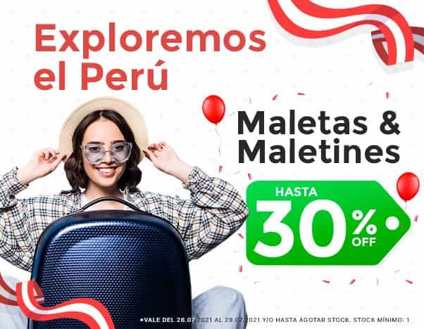 BP2 Exploremos el Perú! - MALETINES Y MOCHILAS hasta 30%