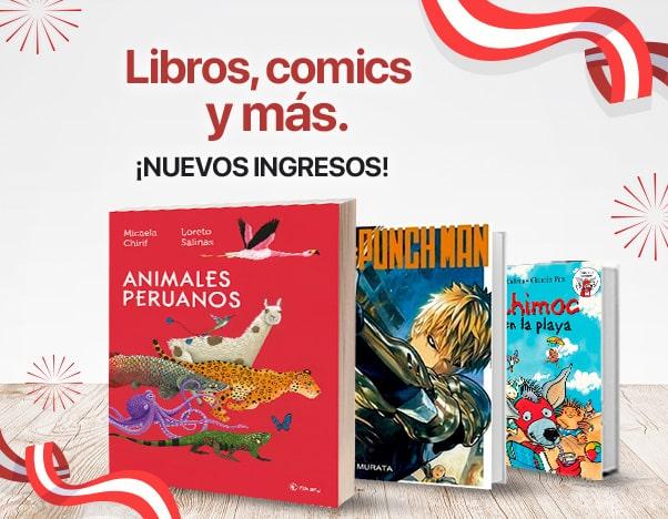 BP3 Libros, comics y más - Nuevos Ingresos