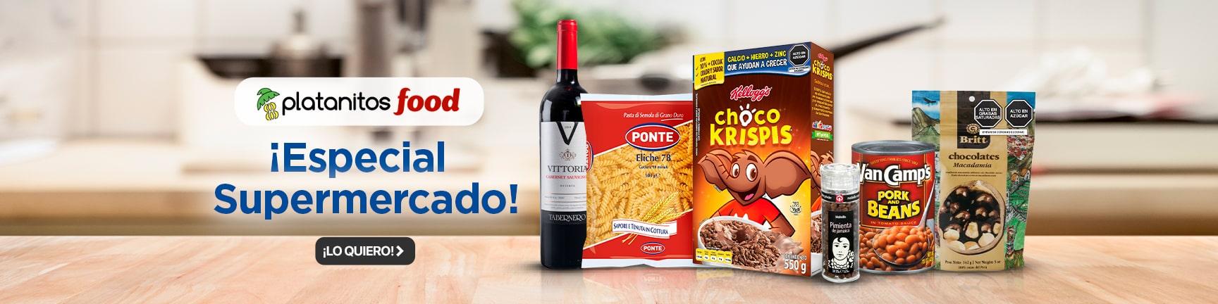 BP2 Platanitos Food - Especial Supermercado