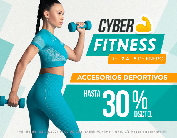 BP1 Cyber Fitness - Accesorios deportivos hasta 30%