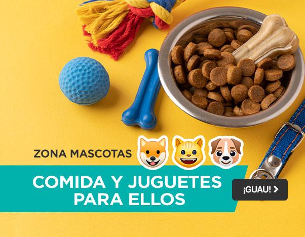 BP2 Zona Mascotas - Comida y juguetes para ellos