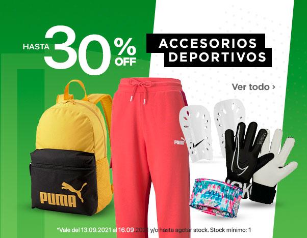 BS2 Accesorios Deportivos hasta 30%