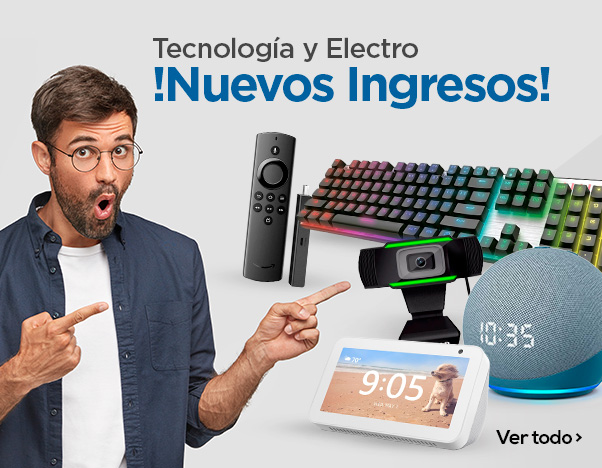 BS3 Tecnología y Electro ¡Nuevos ingresos!