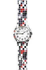 Just4u Negro de Mujer modelo 17496-F Relojes