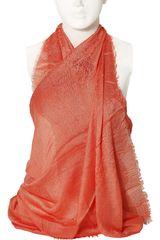 Platanitos Anaranjado de Mujer modelo NJ25100 Bufandas