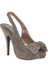 Platanitos Gris de Mujer modelo FSP DANNI61 Sandalias Fiesta Calzado Casual