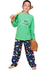 Pijama de Niño Kayser 64-912 Verde