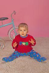 Pijama de Bebito Kayser00-913 Rojo