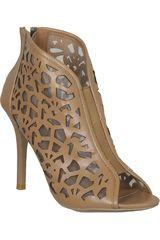 Just4u Camel de Mujer modelo C JENSON-25-A Casual Zapatos Tacos
