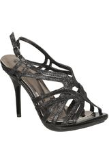 Platanitos Negro de Mujer modelo SP AMELL-1 Casual Sandalias Cuña