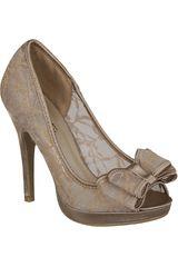 Just4u Camel de Mujer modelo CP RENEE-1-A Plataformas Casual Zapatos