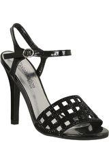 Platanitos Negro de Mujer modelo FS TALENA-06 Fiesta Casual Sandalias