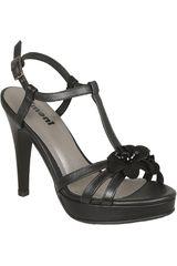 Sandalia de Mujer Limoni - Cuero SP 7075-A Negro