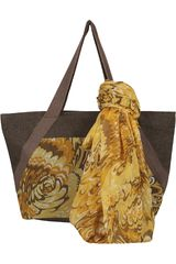 Just4u Marron de Mujer modelo SANDRO SET-A Casual Set Carteras