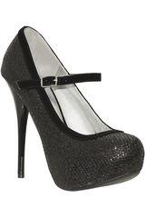 Platanitos Negro de Mujer modelo FP NEUTRAL-414 Calzado Zapatos Plataformas Fiesta