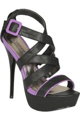 Sandalia Plataforma de Mujer Platanitos SP DAZZLING-89 Negro