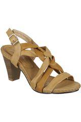 Sandalia Plataforma de Mujer Just4u S 879-A Tan