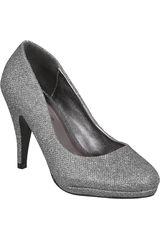 Platanitos Pewter de Mujer modelo FP 4649 Calzado Zapatos Plataformas Fiesta