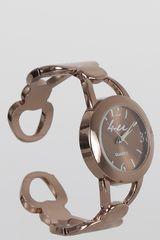Reloj Casual de Mujer Just4u LW5283 Dorado