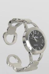 Reloj Casual de Mujer Just4u LW5283 Plateado