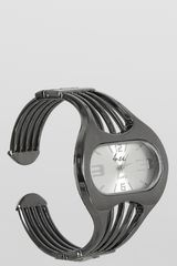 Reloj Casual de Mujer Just4u LW5279 Negro