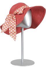 Sombrero de Mujer Just4u BL14-0502-1 Rojo