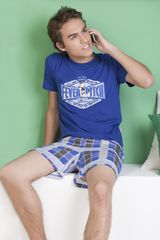 Kayser Azul de Niño modelo 76-466 Lencería Pijamas Ropa Interior Y Pijamas
