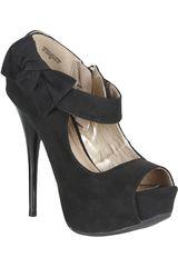 Platanitos Negro de Mujer modelo CP DAZZLING137 Plataformas Casual Calzado Zapatos