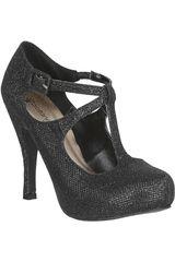 Platanitos Negro de Mujer modelo FP TRENCH92 Zapatos Fiesta Calzado Plataformas