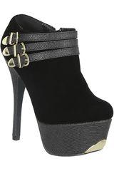Just4u Negro de Mujer modelo CP PSYCHE41-A Calzado Zapatos Plataformas Casual