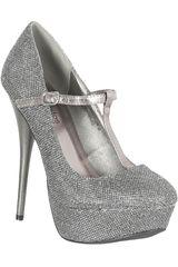 Platanitos Pewter de Mujer modelo FP NEUTRAL432 Plataformas Fiesta Zapatos