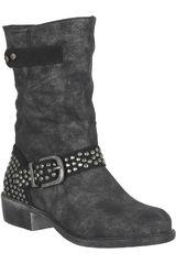 Platanitos Negro de Mujer modelo BT 9924 Botínes Tacos Casual Calzado