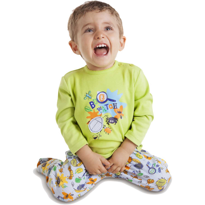 Pijama de Bebito Kayser Verde 00-472