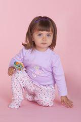 Pijama de Bebita Kayser 00-543 Lila