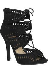 Platanitos Negro de Mujer modelo S CAPERS Tacos Sandalias