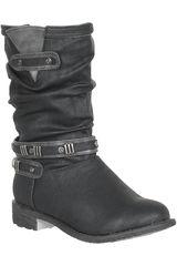 Platanitos Negro de Mujer modelo BT 22715 Botínes Calzado Tacos Casual