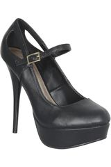 Platanitos Negro de Mujer modelo CP NEUTRAL02 Zapatos Plataformas Casual