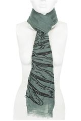 Bufanda de Mujer Just4u NJYH13287-A Verde