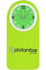 Reloj Casual de Mujer Platanitos Verde CLIP RELOJ