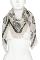 Platanitos Beige de Mujer modelo NJYH13290 Bufandas
