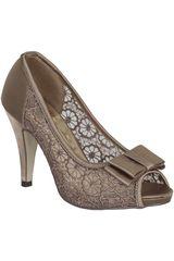 Platanitos Topo de Mujer modelo CP 4665-A Casual Calzado Zapatos Plataformas
